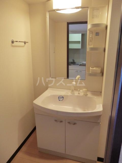 ピースプレイス牛巻 703号室の洗面所