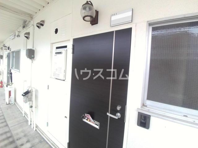 コーポ三陽B棟 203号室の玄関