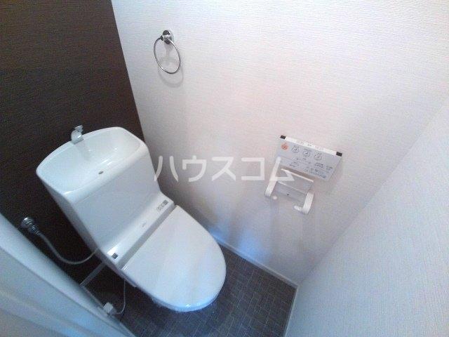 コーポ三陽B棟 203号室のトイレ