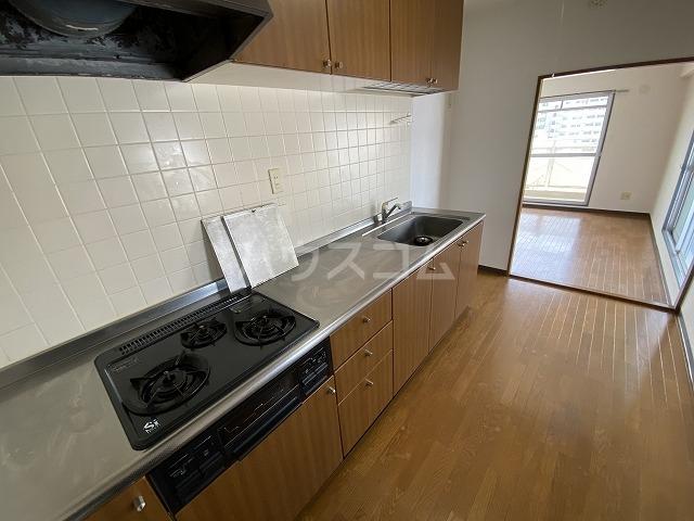 ラフィーネ六名 402号室のキッチン