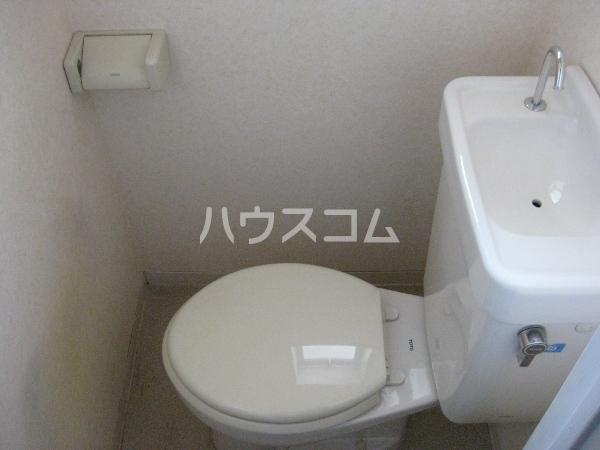 コーポ愛Ⅱ 1B号室のトイレ
