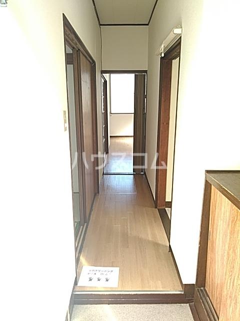難波ハイツ 2F号室の玄関
