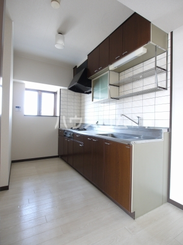 スカイヒルズ植田 601号室のキッチン