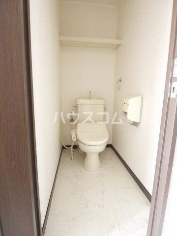 スカイヒルズ植田 601号室のトイレ