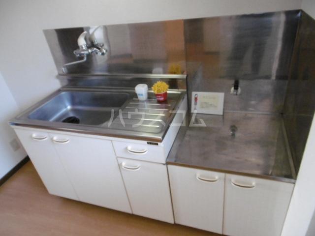 クラップコティ 203号室のキッチン