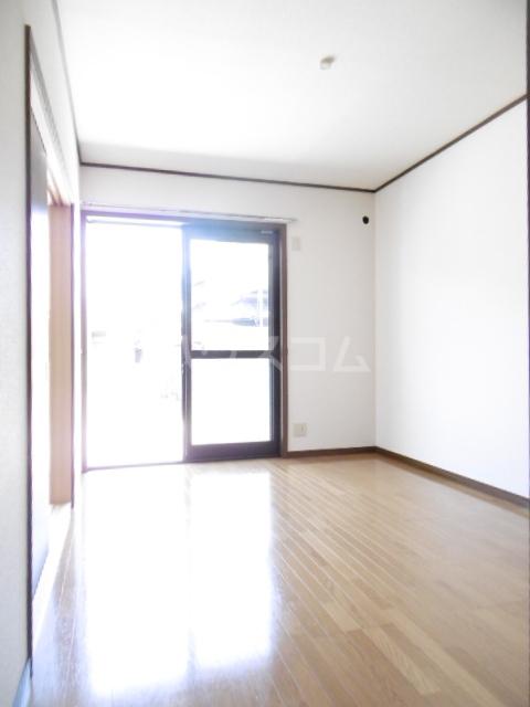 クラップコティ 203号室のベッドルーム
