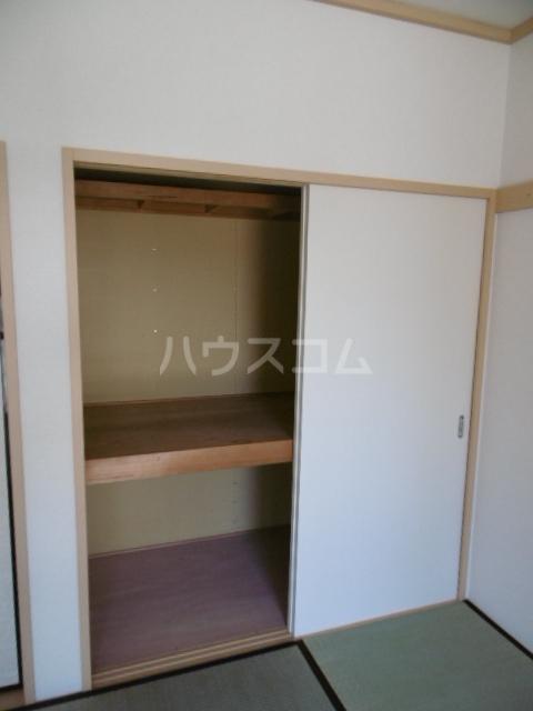 クラップコティ 203号室の収納