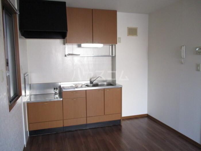 オリーブ A202号室のキッチン