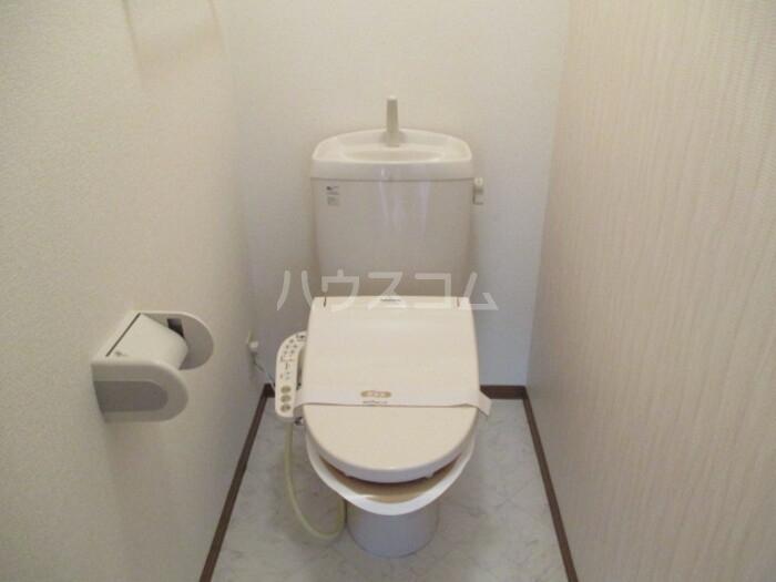 オリーブ A202号室のトイレ