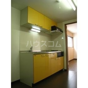 まきの木館 うたり 302号室のキッチン