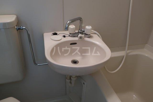 アクセスコートⅥ 2E号室の洗面所