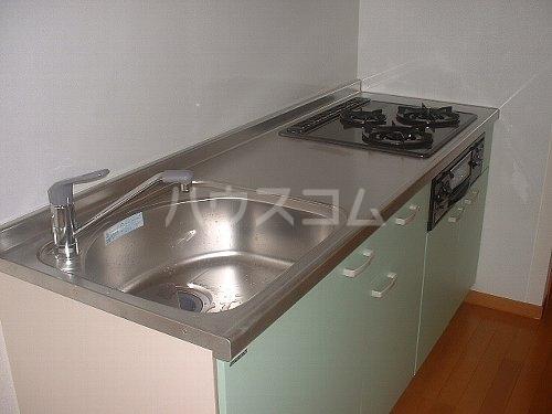 ネオファルコ 101号室のキッチン
