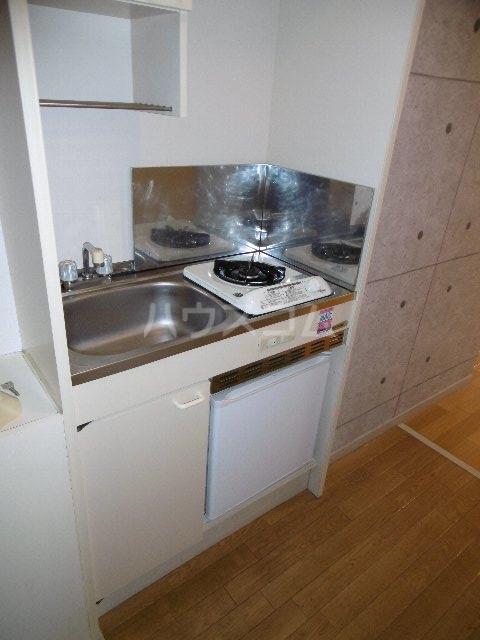 ドーム桜山 2H号室のキッチン