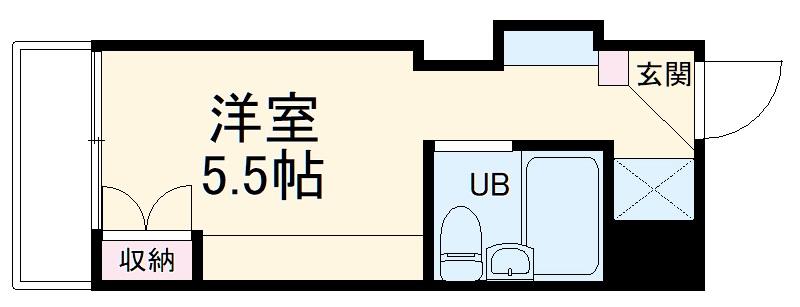 ドーム桜山・3F号室の間取り