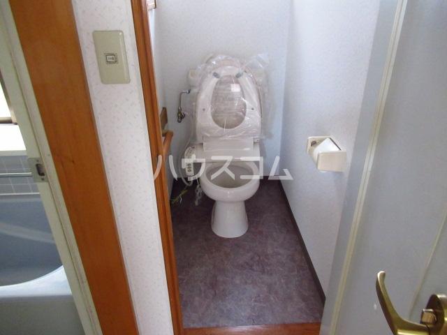 永幸ハイツ 101号室のトイレ