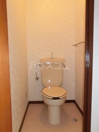 アイリス若松 202号室のトイレ