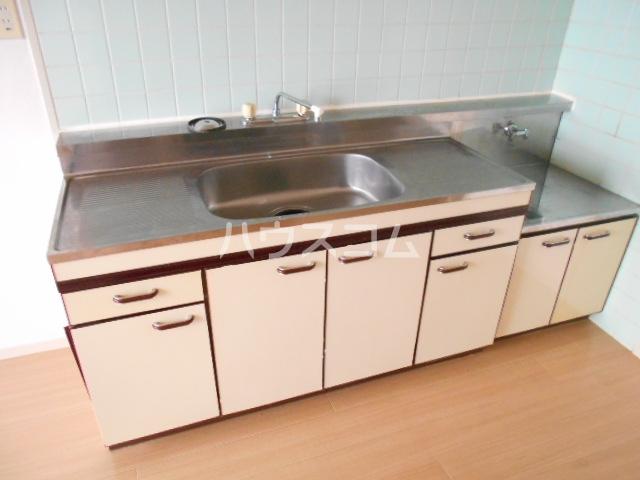 松栄マンション 101号室のキッチン