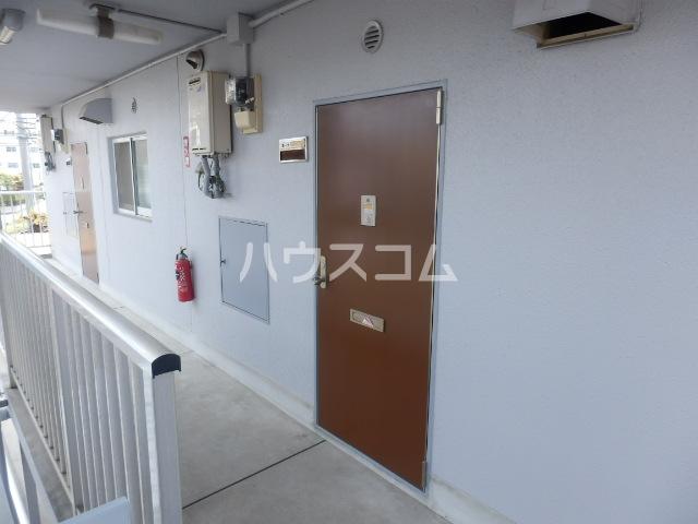 ハイツMO C-2号室のキッチン
