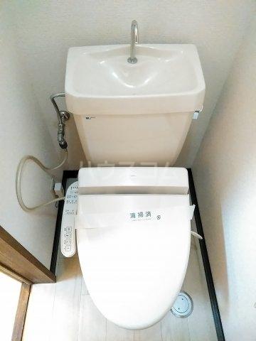 コーポ・ユトリロ 203号室のトイレ