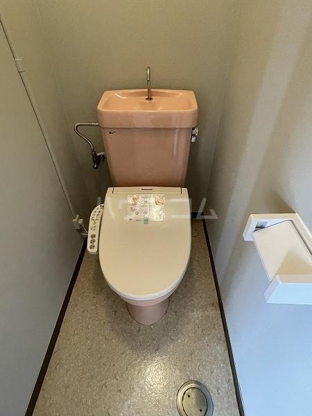 ヴィラ88 4-A号室のトイレ
