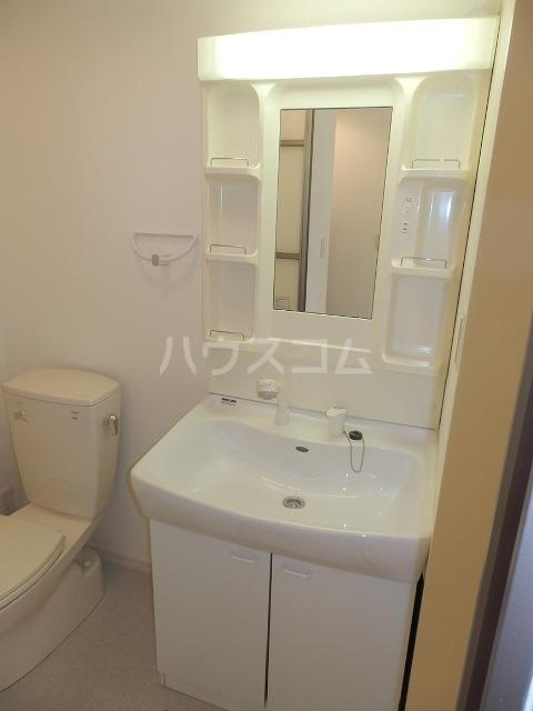 ビートル 201号室の洗面所
