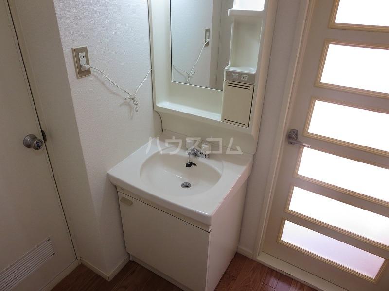 コーブサンクチュアリ 203号室の洗面所