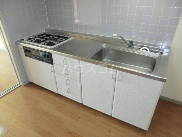 キングス所沢 00402号室のキッチン