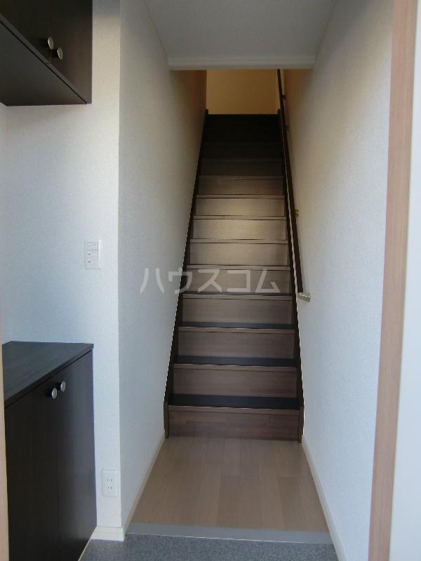 グランヒルⅡ 203号室の玄関