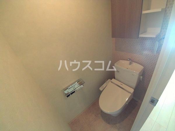 プランドール東岡崎 305号室のトイレ