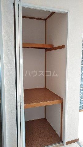 サザンクロスハイム 205号室の収納