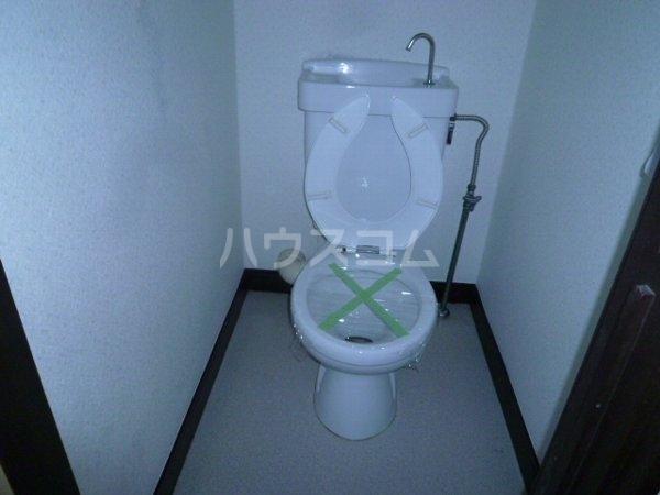 東中山ハイツ 102号室のトイレ