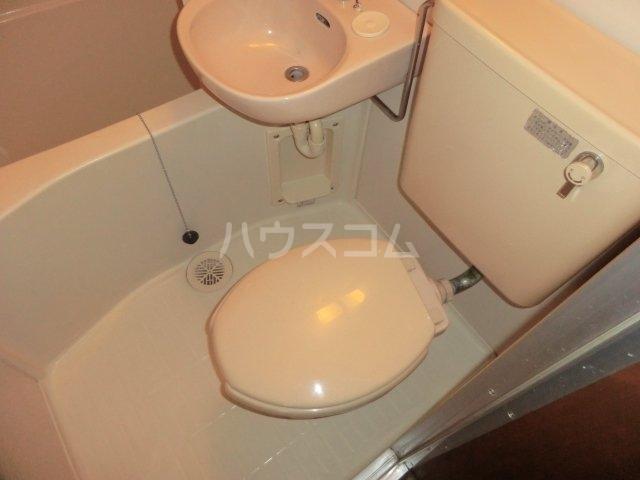 ロータストヨダ 301号室のトイレ