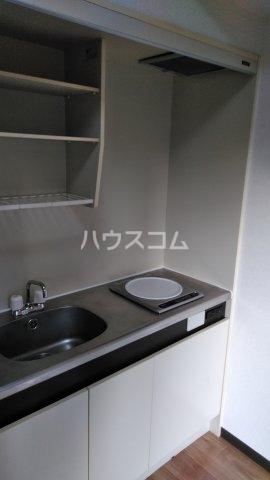 ベルレ市川 203号室のキッチン