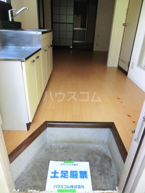 サンテラス 00101号室の玄関