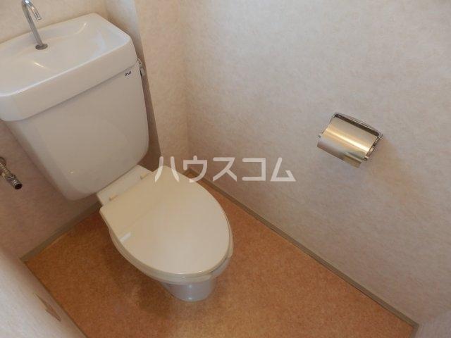 ビラ三秋 202号室のトイレ