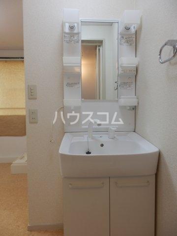 ビラ三秋 202号室の洗面所
