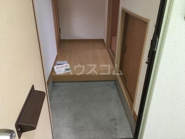 メゾン石川 206号室の玄関
