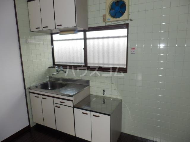 メゾン石川 206号室のキッチン