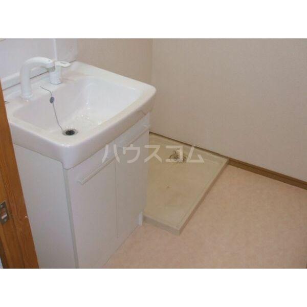 Limpia城南 202号室の洗面所