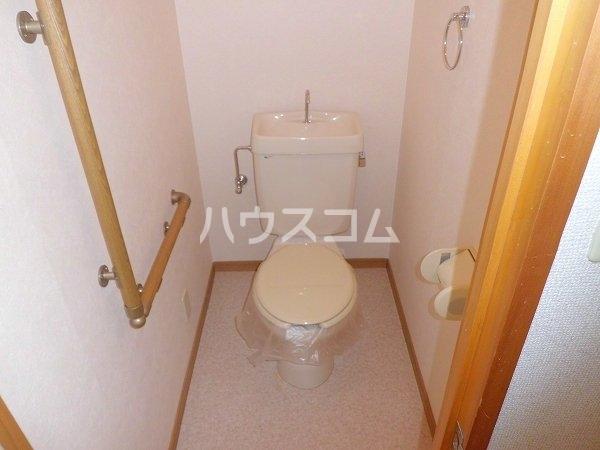 Limpia城南 202号室のトイレ