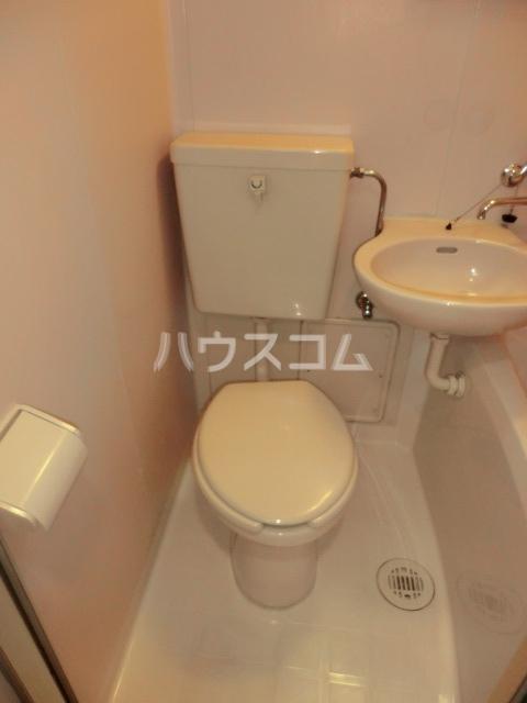 HAUS-MIZUHO 202号室のトイレ