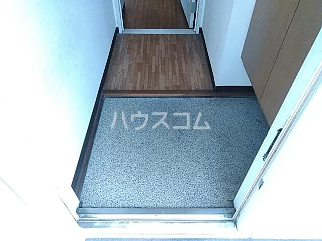 ドミール金子 101号室の玄関
