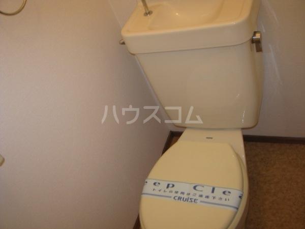 ヒルズ梅ヶ丘 A107号室の洗面所