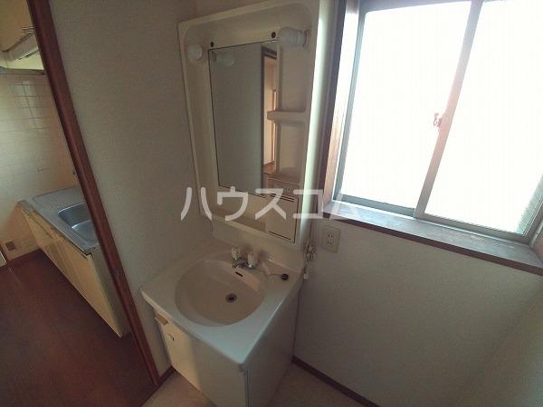 リバーストーン 303号室の洗面所