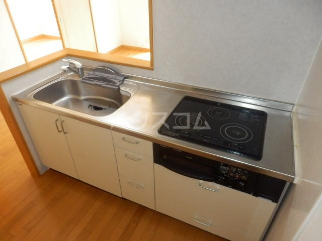 パルティーレ野並 201号室のキッチン
