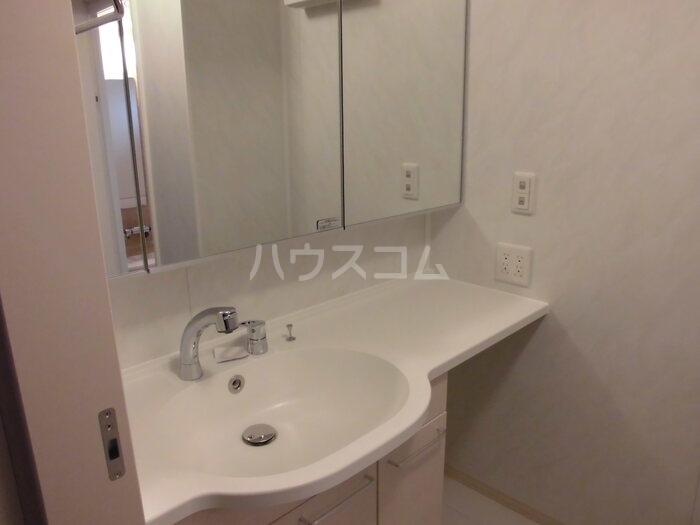 ALBA GLANDE A 203号室の洗面所