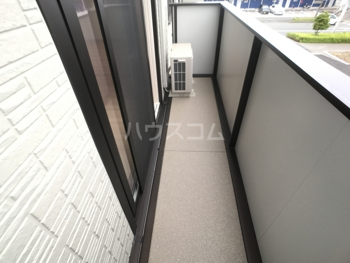 ALBA GLANDE A 203号室のバルコニー