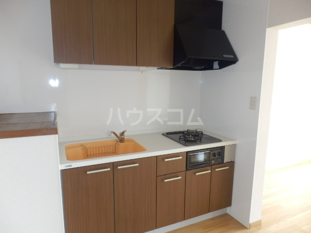 ワンスリーマンション 202号室のキッチン