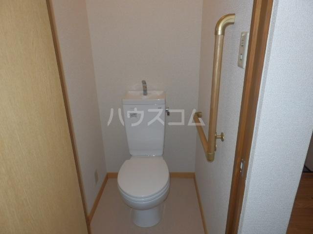 ワンスリーマンション 202号室のトイレ