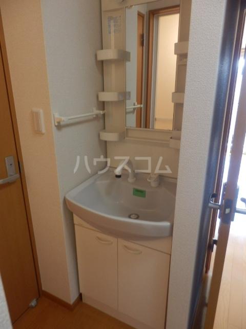 エテルノ 202号室の洗面所